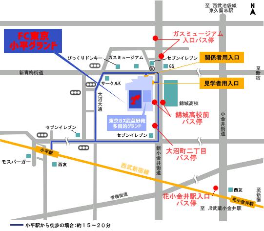 小平アクセスmap clubprofile 【クラブ情報】会社概要