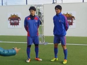 SHOW GUTS スポーツ1 300x224 テレビ東京系列「SHOW GUTS スポーツ2014」に森重選手、高橋選手が登場!
