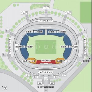 天皇杯4回戦席割図 300x300 第94回天皇杯ラウンド16(4回戦)のチケット販売について