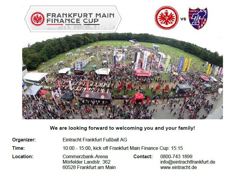 イベント 【追記】親善試合「Frankfurt Main Finance Cup」について