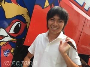 クイズ用丸山 300x225 10/1「都民の日」記念!FC東京LINEキャンペーン実施のお知らせ