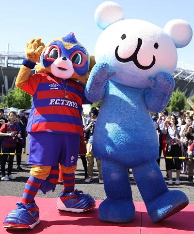 2016年ドロンパ×パッチョ中 【追記】5/14(日)柏戦『東京ガスライフバル Day』開催のお知らせ