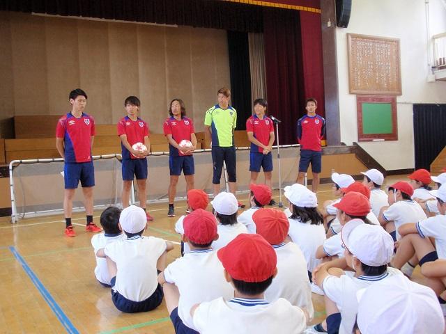 三鷹1 【報告】FC東京選手会 小学校訪問