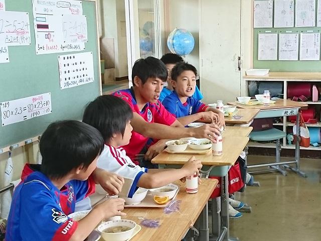 西東京1 【報告】FC東京選手会 小学校訪問