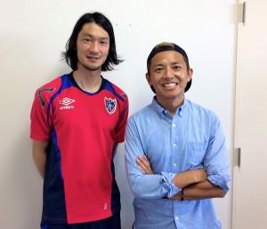 0602 300x258 J WAVE『JK RADIO TOKYO UNITED』に髙萩洋次郎選手が登場!