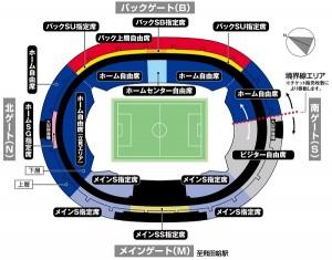 2016シーズン席割図 300x235 2017JリーグYBCルヴァンカップ プレーオフステージ チケット販売について