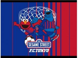 セサミストリートイメージ画 300x225 「2017FC東京マンスリーグッズ」第7弾 販売のお知らせ